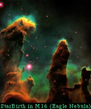 StarBirth in M16 
